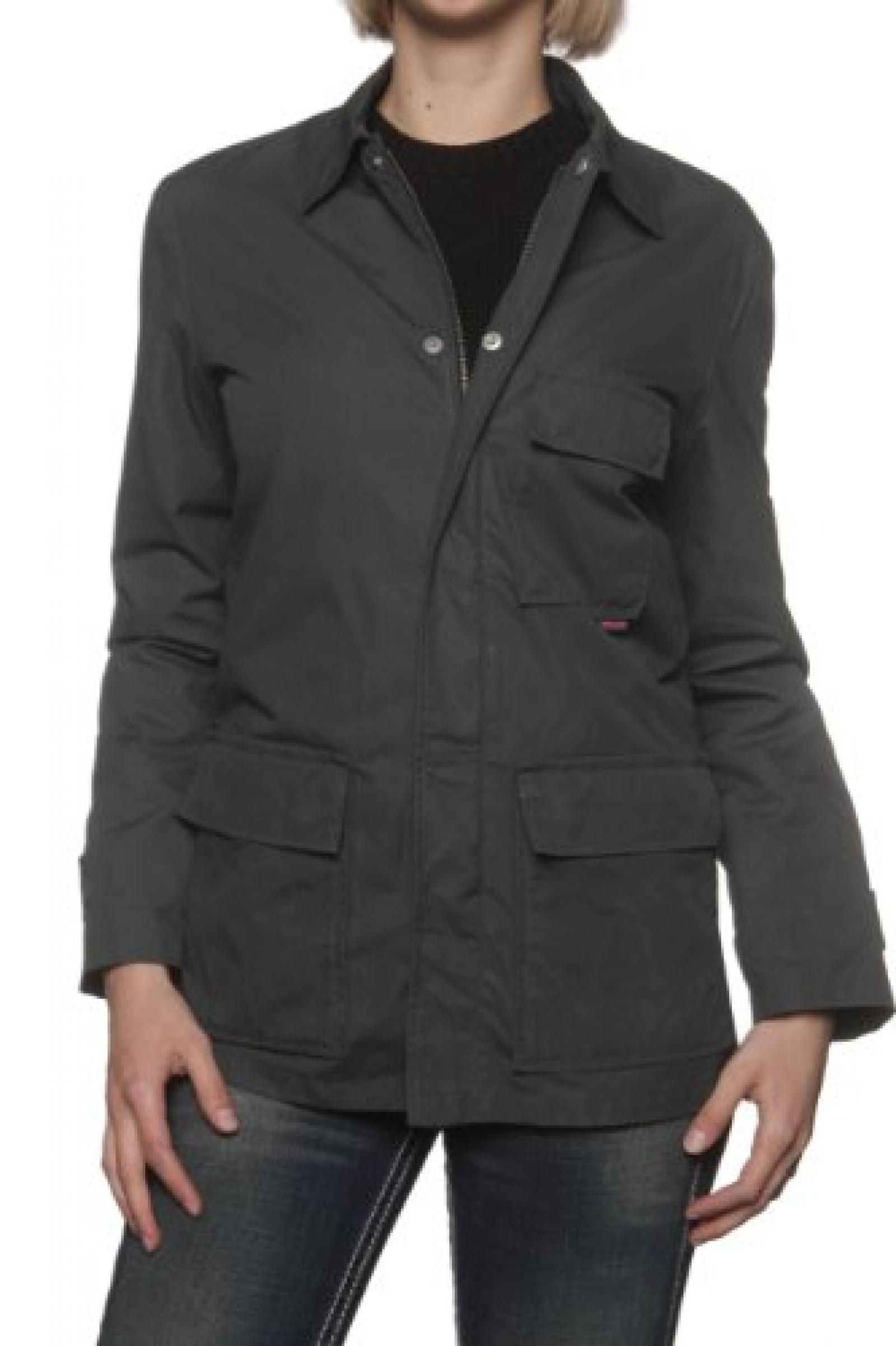 Belstaff Aviator Damen Jacke Sommerjacke NEPAL, Farbe: Anthrazit