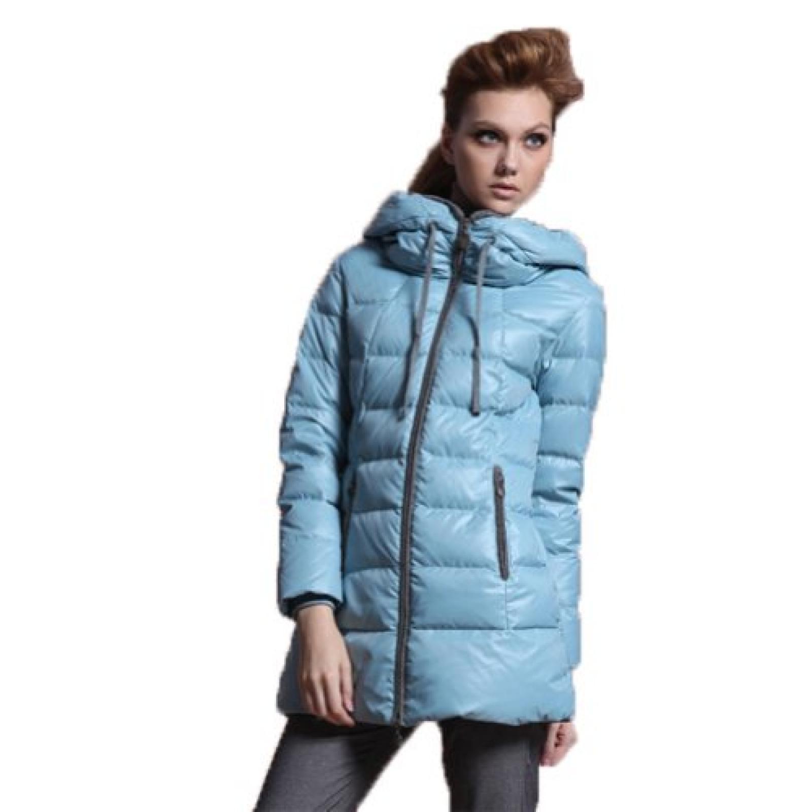 EWEMALLJA Damen Daunenjacke Langmantel mit Kapuze Winter warm in verschiedenen Farben