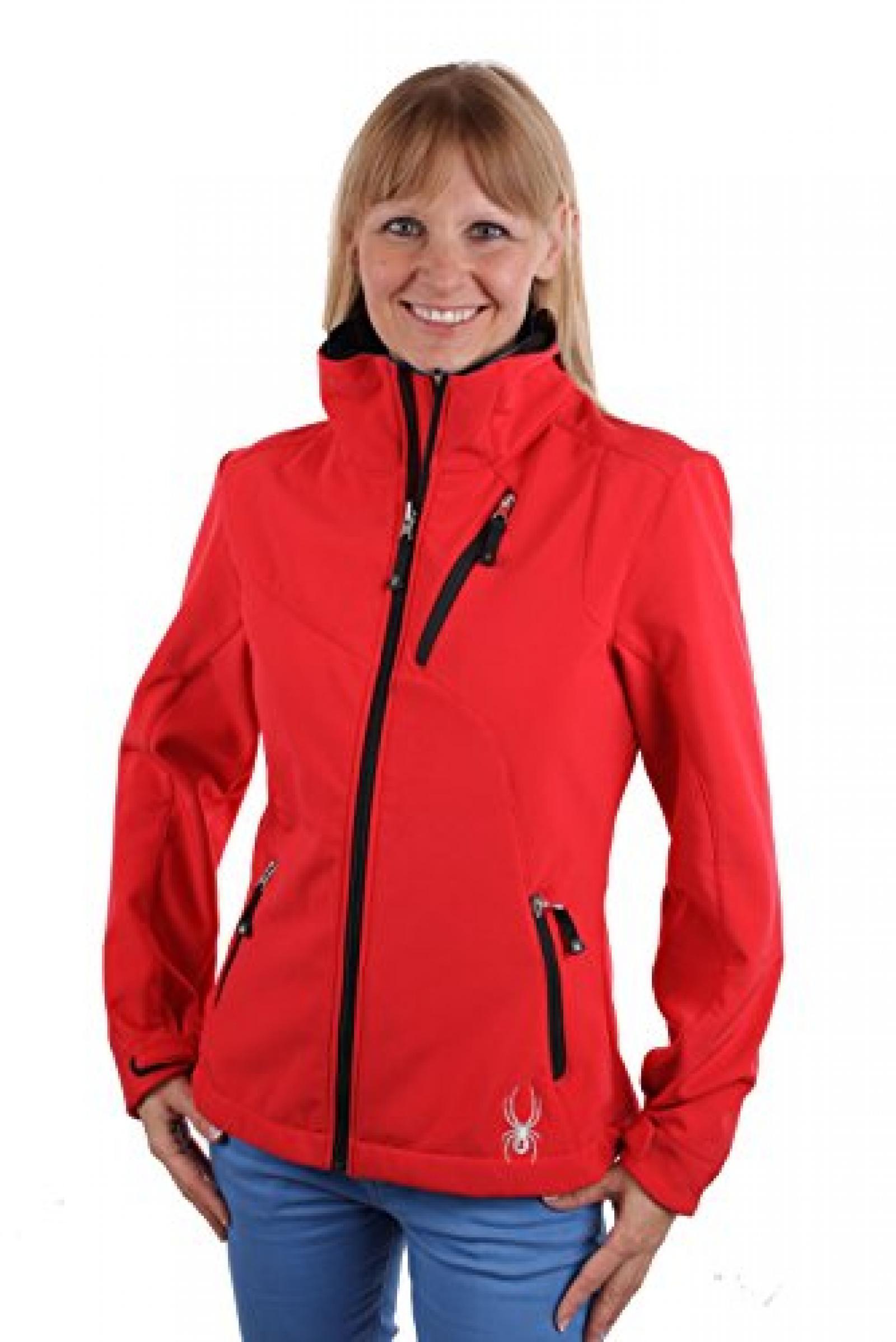 Spyder Damen Softshell Jacke Mont Blanc 2014/2015 Rot Gr. 40 #SP105A