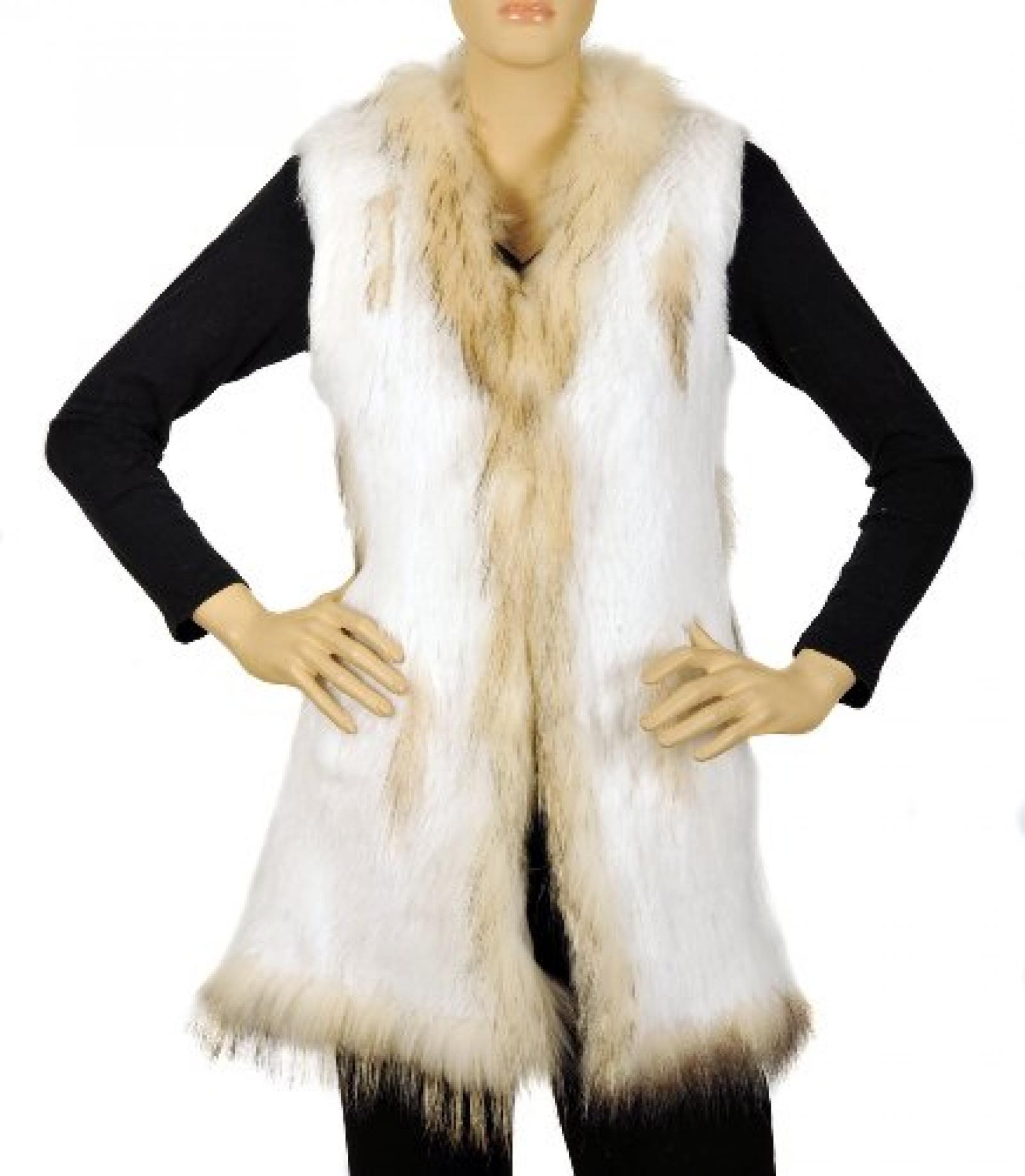Waooh - Fur - Kaninchen und Waschbären Jacke - Weiß