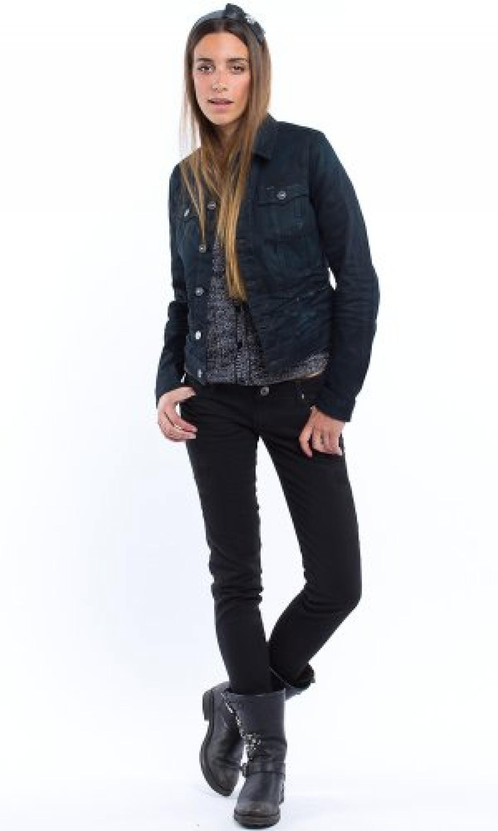 Jeansjacke New Slim Tailor Jkt Wmn Dk Aged G-StarDamen