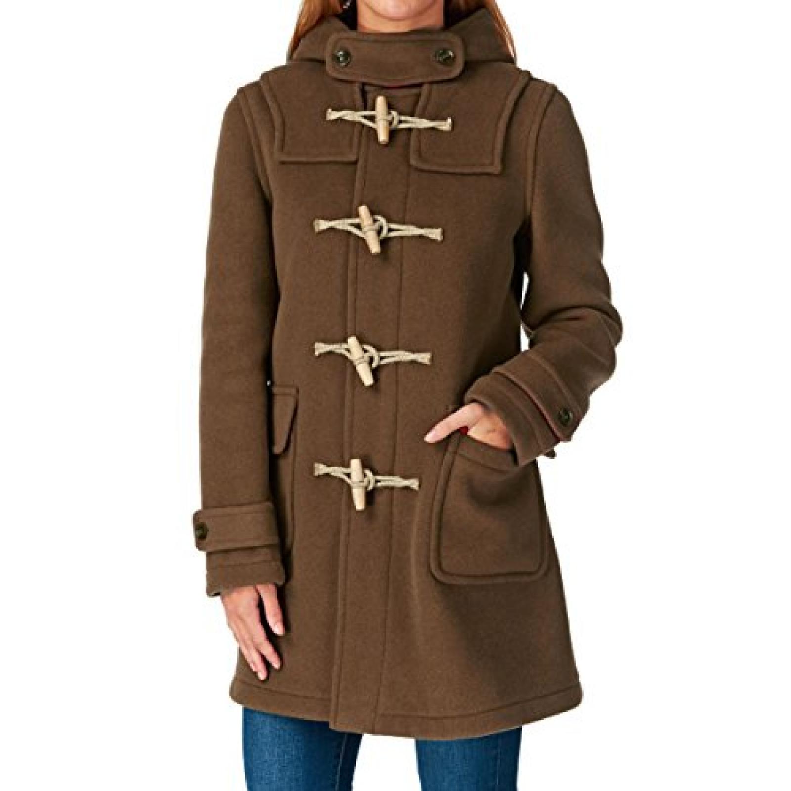 MENIL Cornwall Classic Duffle Jacket - Camel