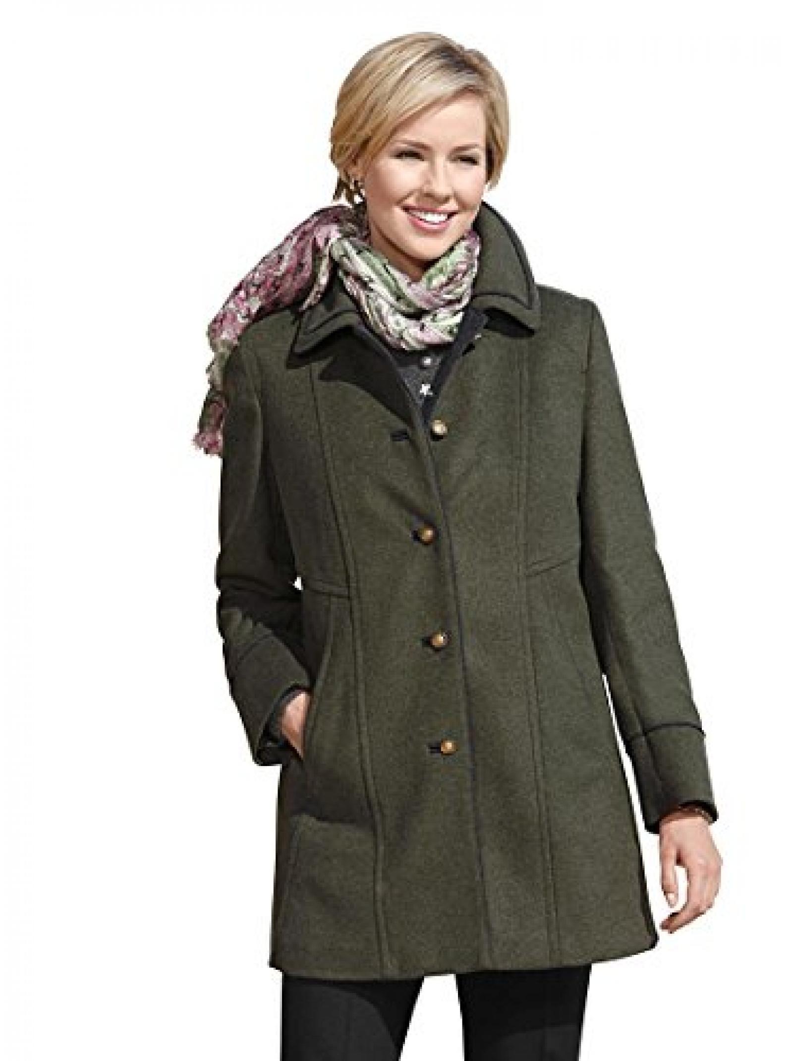 Damen-Loden-Jacke - grün-meliert - Witt Weiden - 322656