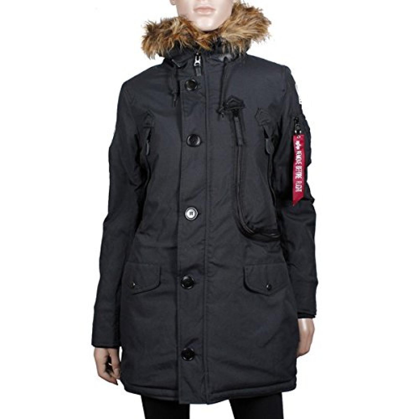 Alpha Industries Polar Jacket Wmn Winterjacke Burn