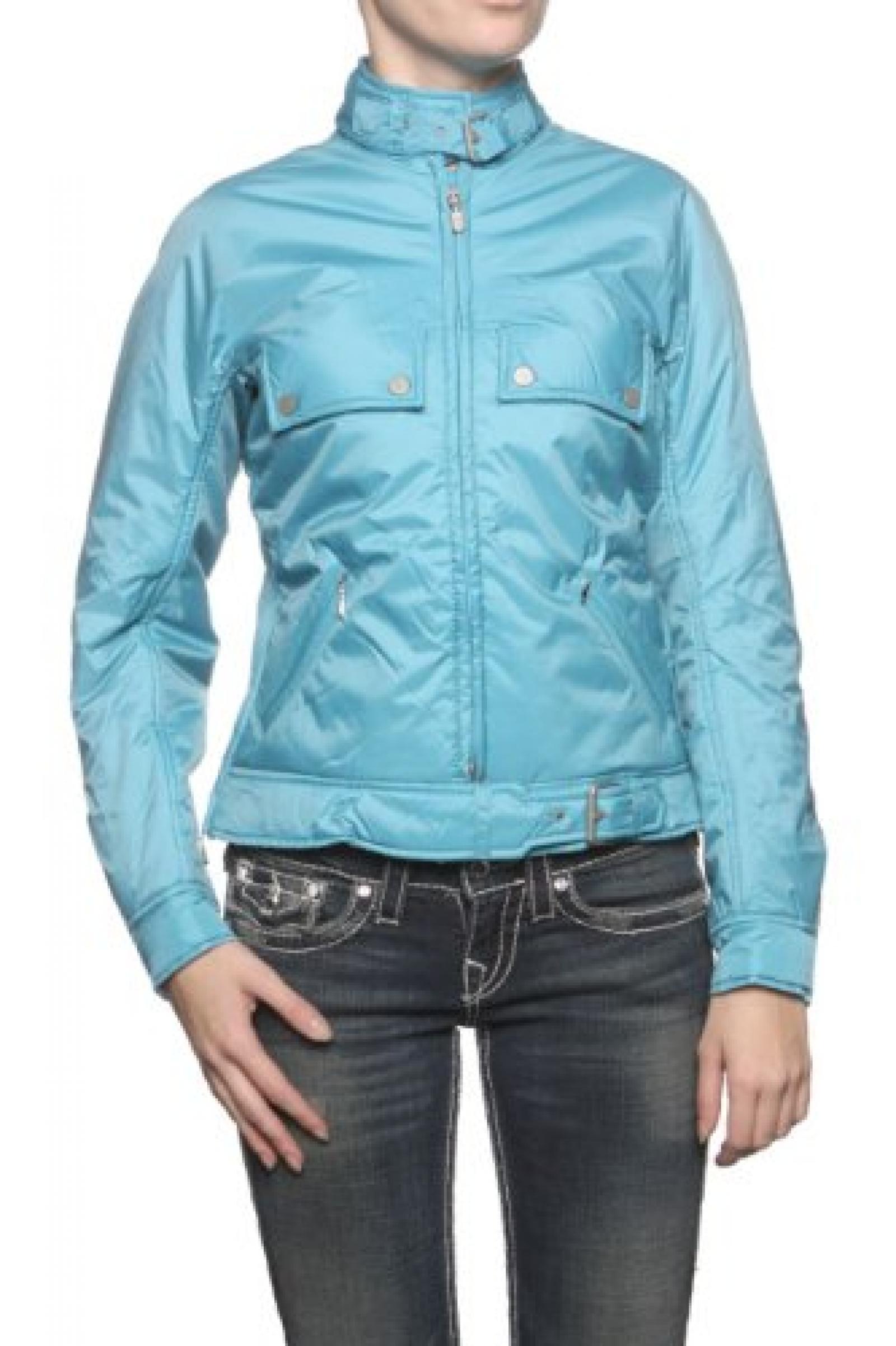 Belstaff Silver Label Damen Jacke Blouson-Jacke DRAGONFLY, Farbe: Petrol