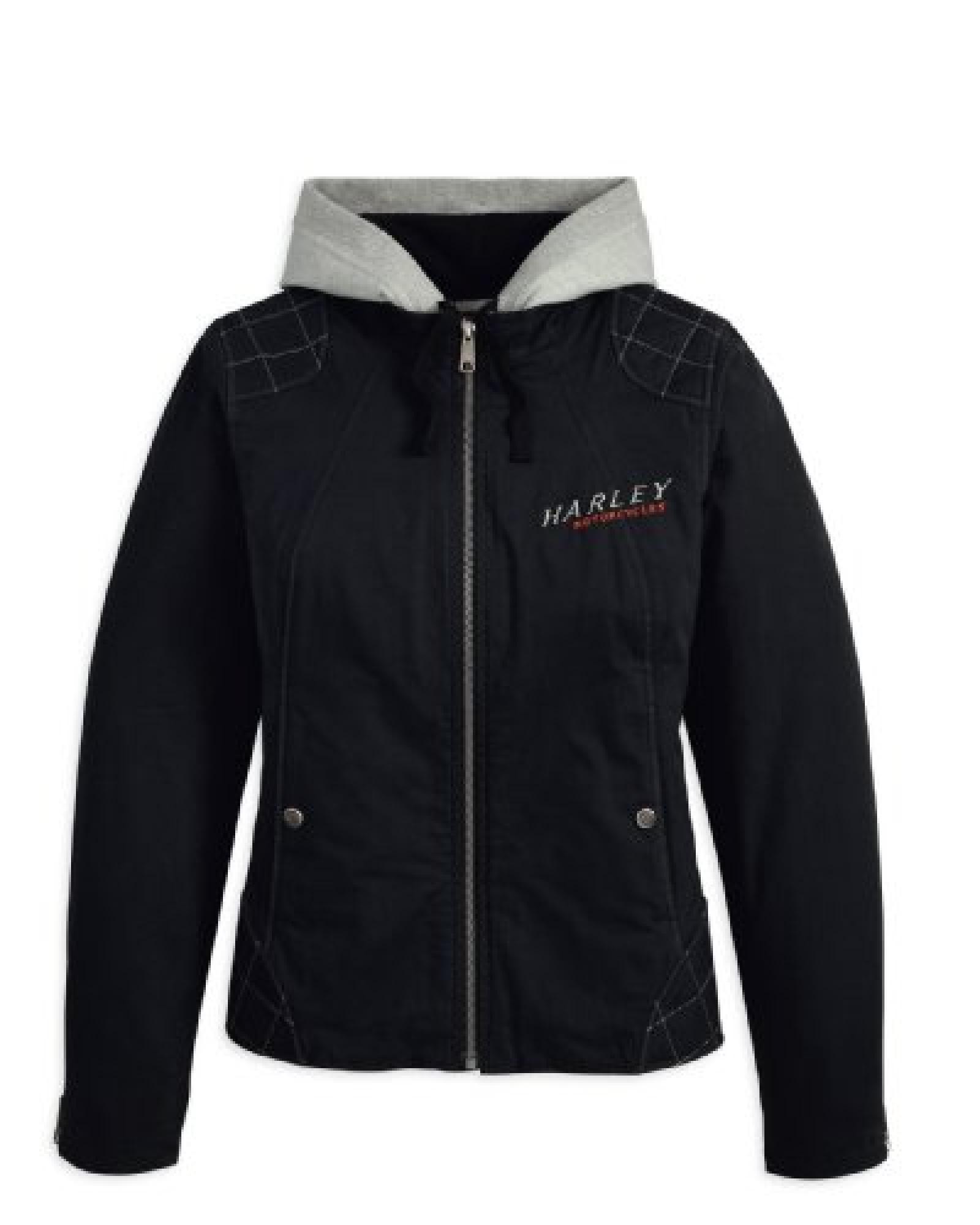 Harley-Davidson Phoenix 3-in-1 Cotton Twill Jacket 97555-13VW Damen Outerwear