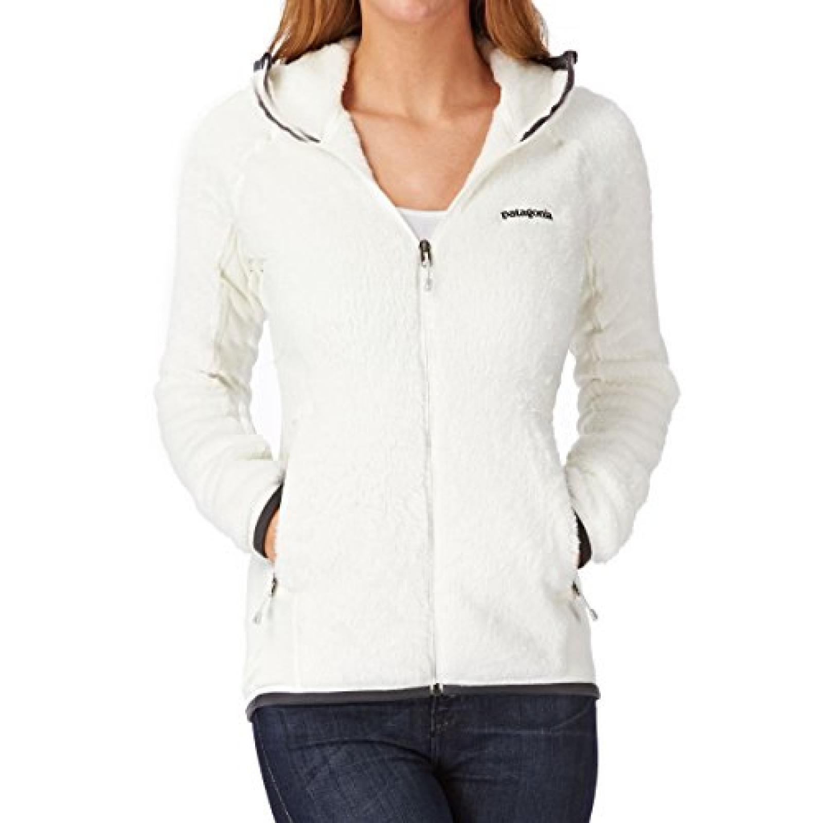 Patagonia R3 Hooded Fleece - Birch White