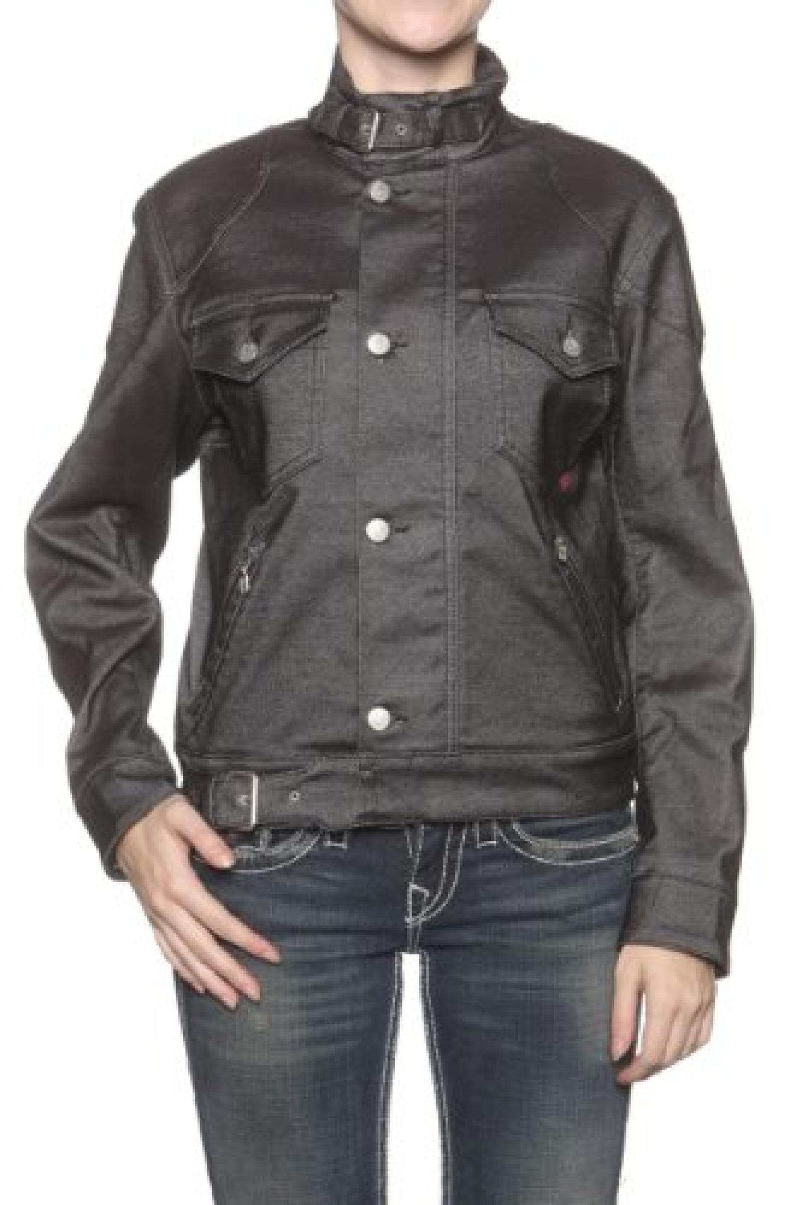 Belstaff Blackprince Damen Jacke DYNATEC, Farbe: Dunkelgrau
