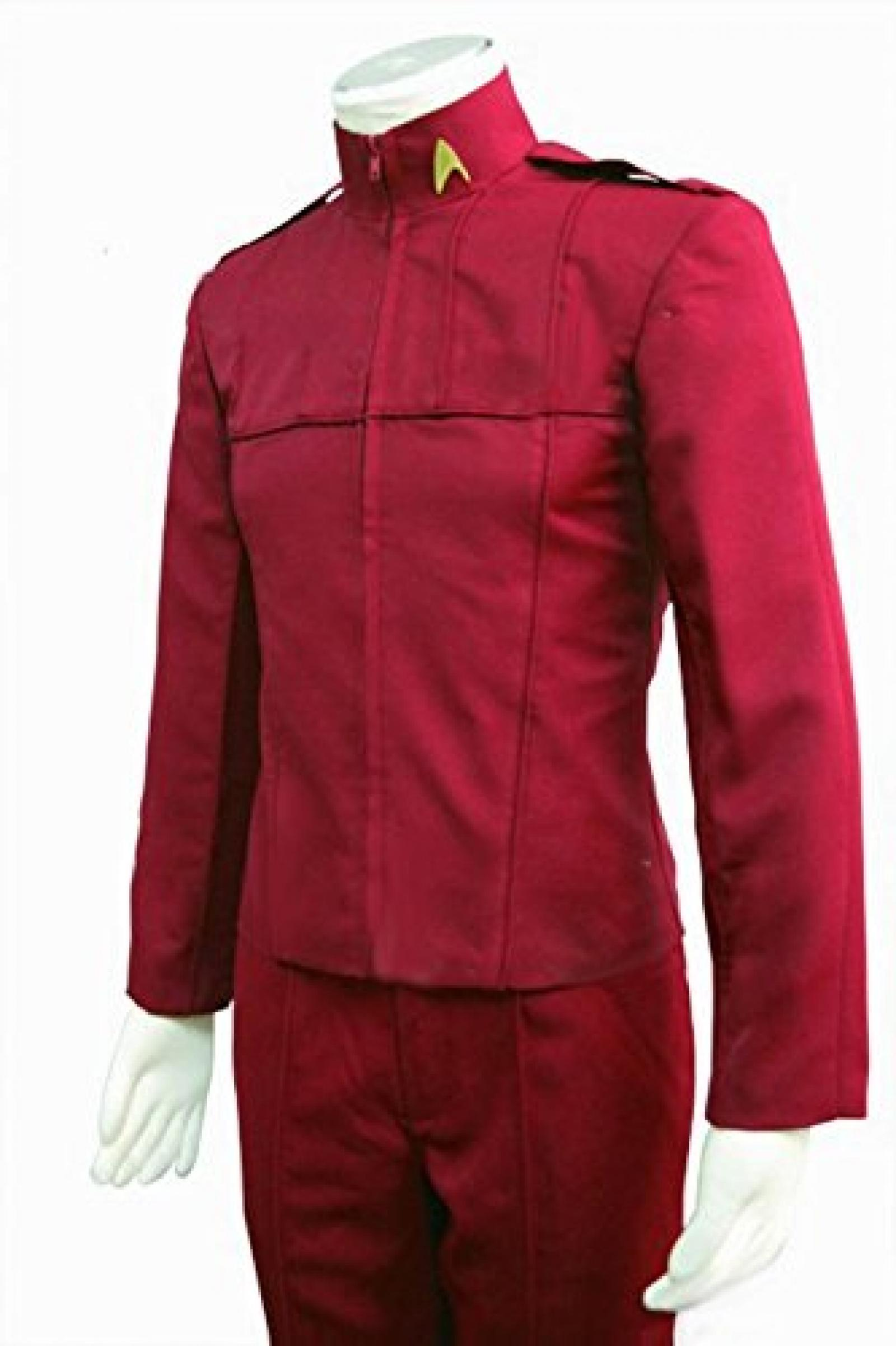 Star Trek 2009 Movie Cadet Uniform Jacke Pants Cosplay Kostuem