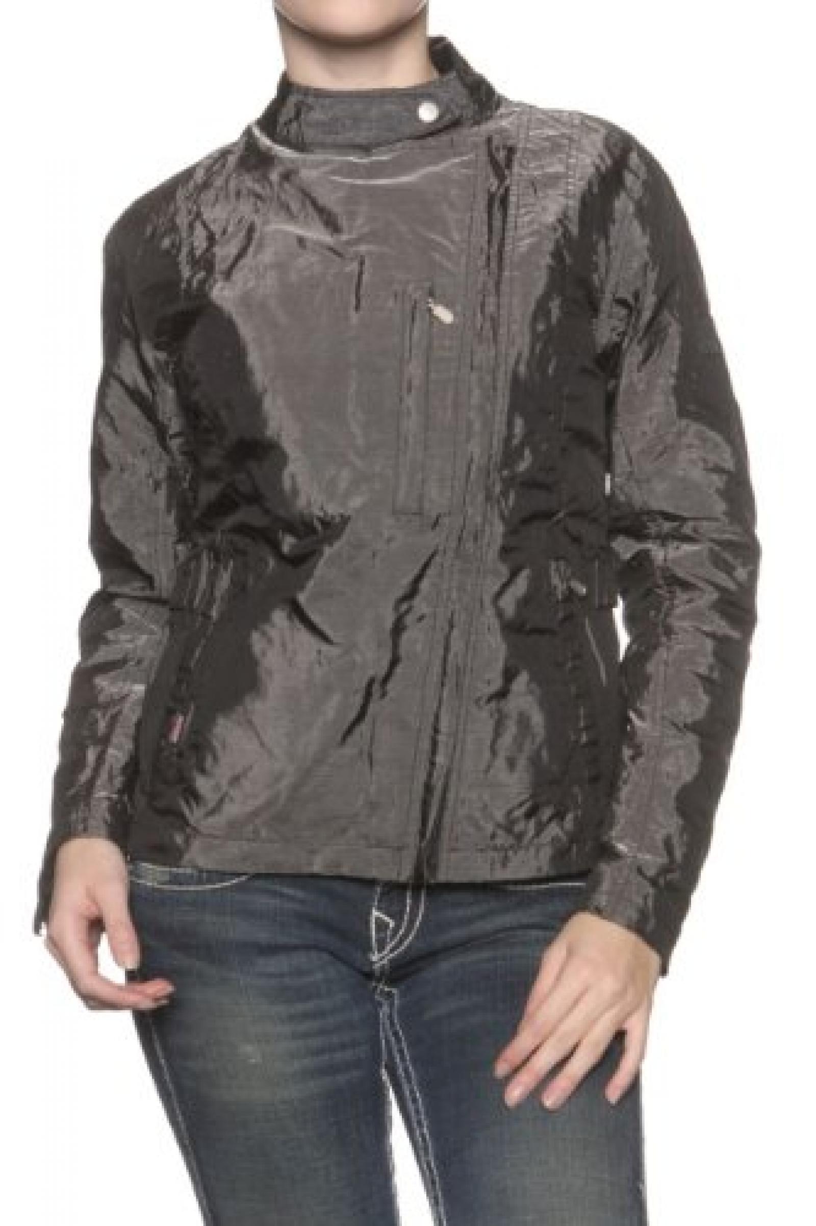 Belstaff Damen Jacke Blouson-Jacke JEAN DARC, Farbe: Dunkelgrau