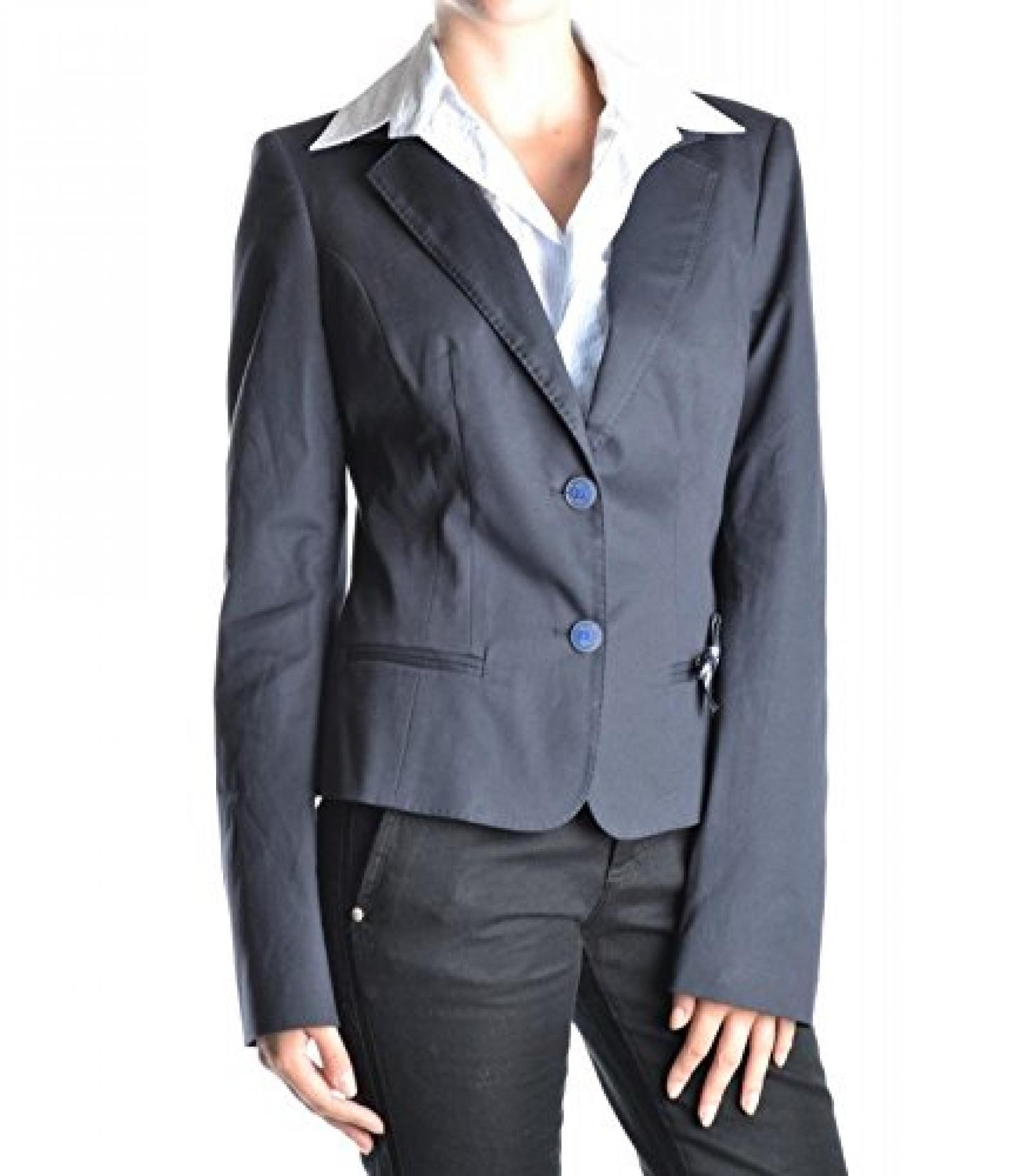 Frankie morello jacket gm165 46 dark blue