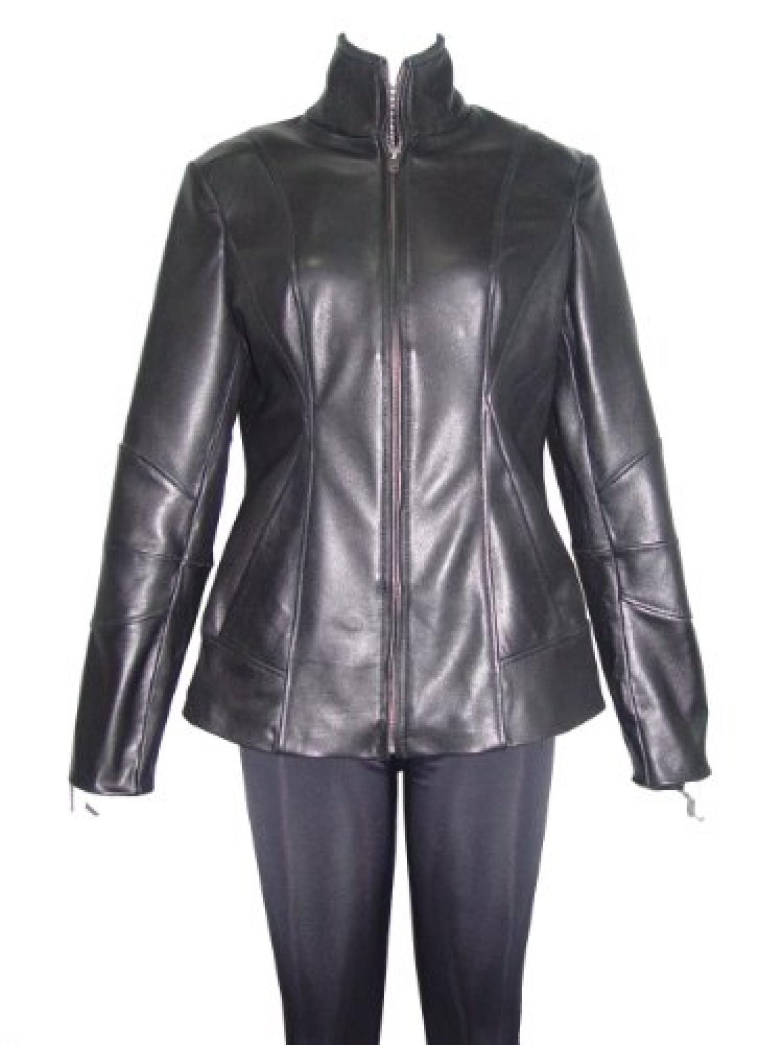 Nettailor FREE tailoring Women PETITE SZ 4201 Leather Moto Jacket