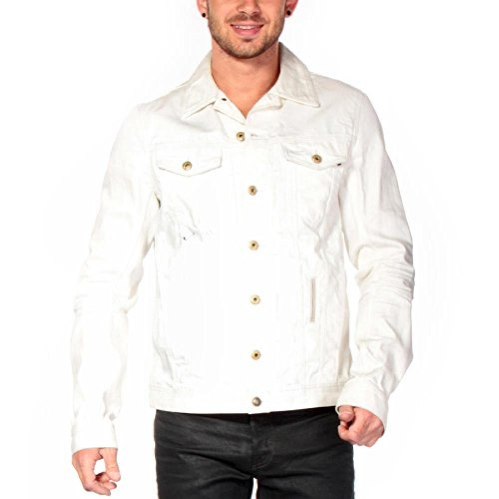 Diesel Damen Jacke Weiß weiß