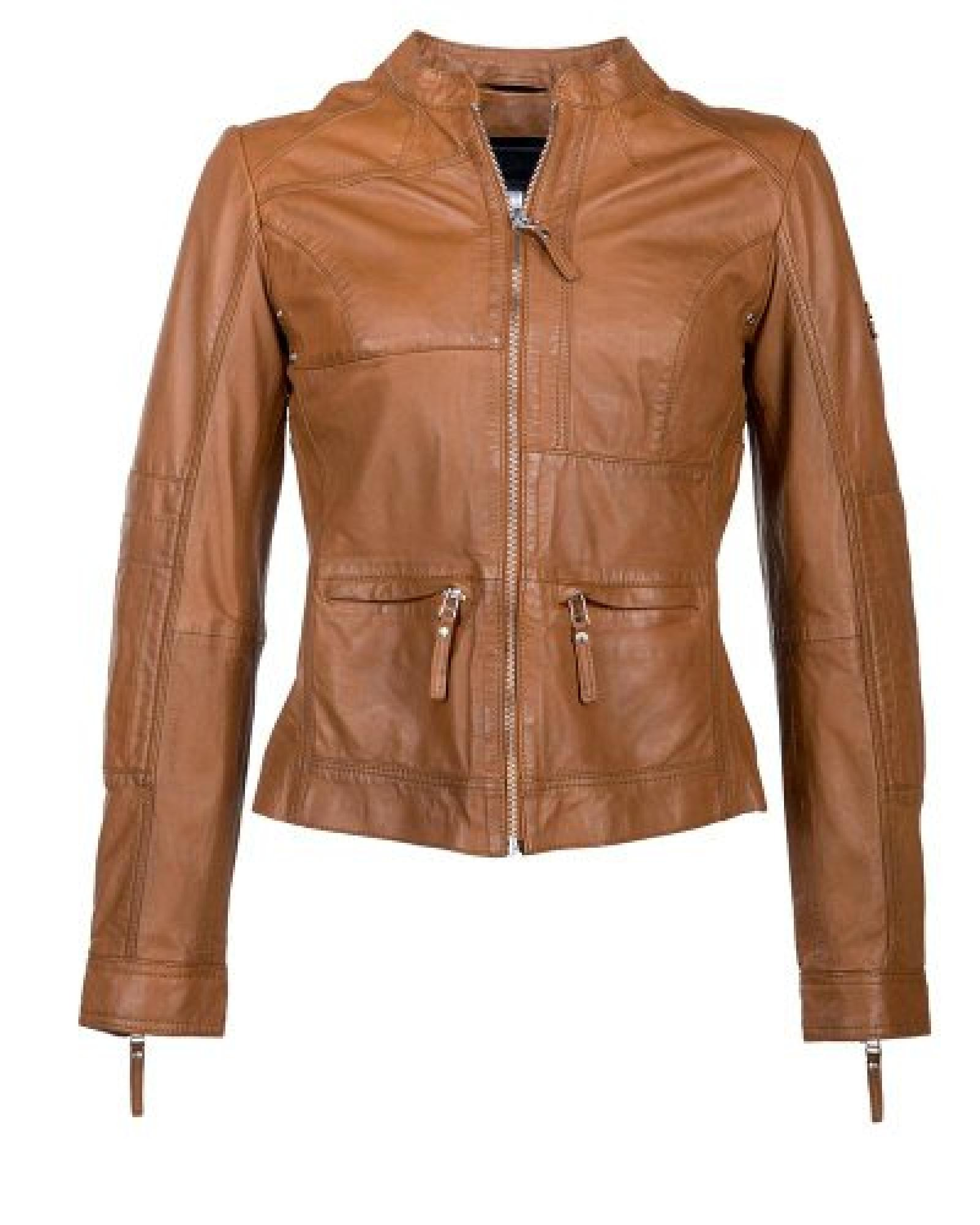 JCC Lederjacke, Damen Friday