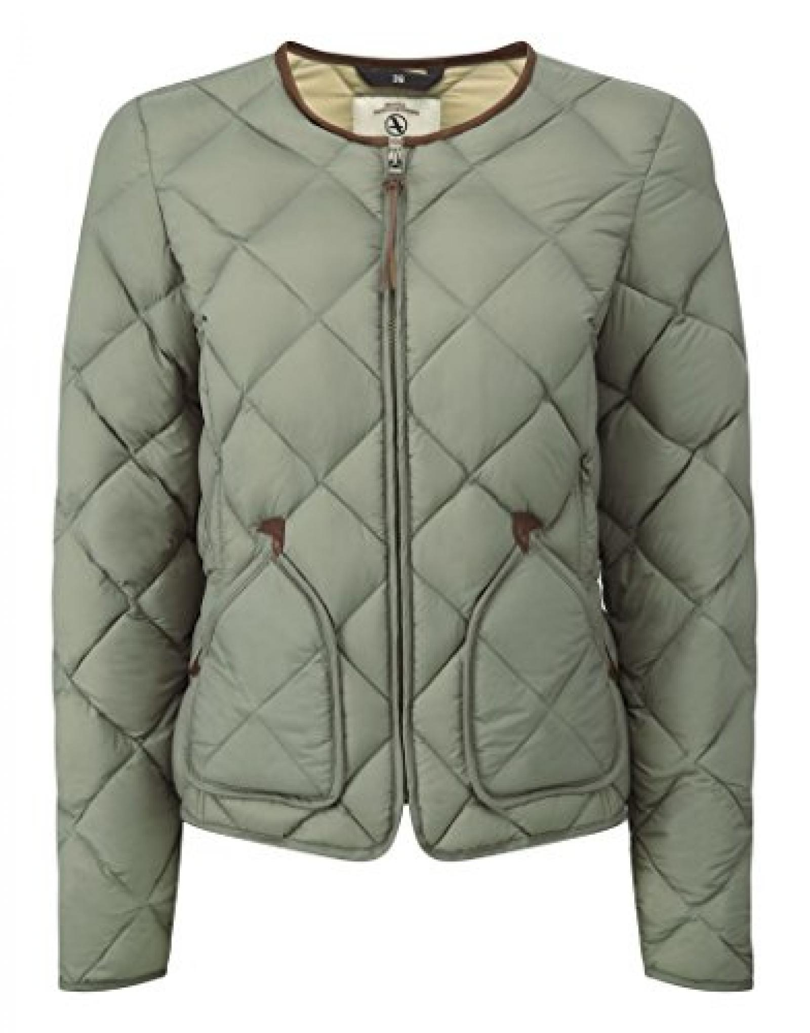 Aigle Ladies Downstar Quilted Jacket - Tea
