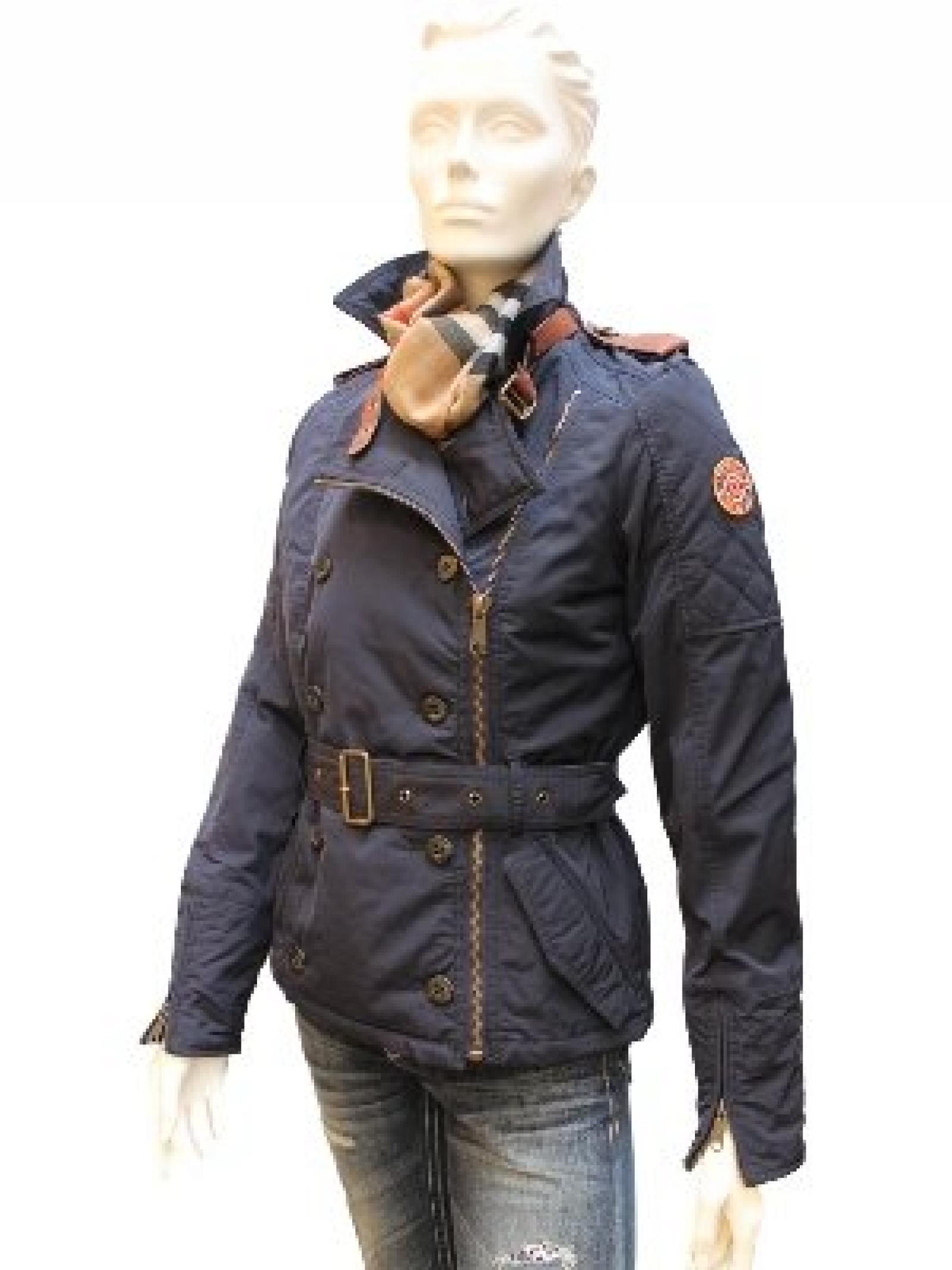 Damen Winter Jacke von Tribeca, Kendra, marine/blau
