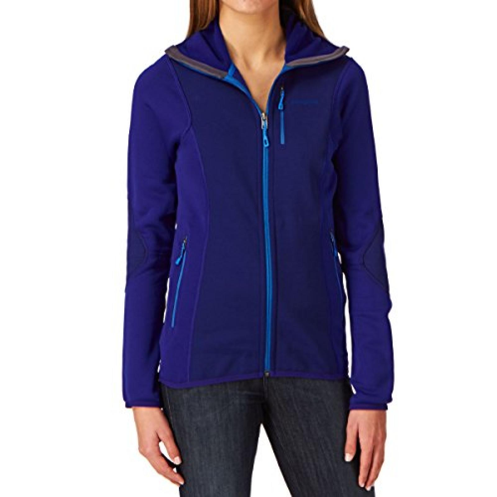 Patagonia Piton Hybrid Hooded Fleece - Cobalt Blue