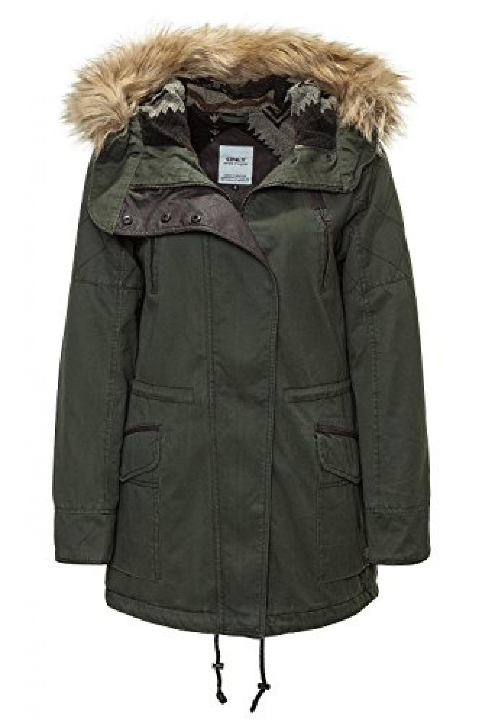 Only Damen Winterjacke in verschiedenen Farben