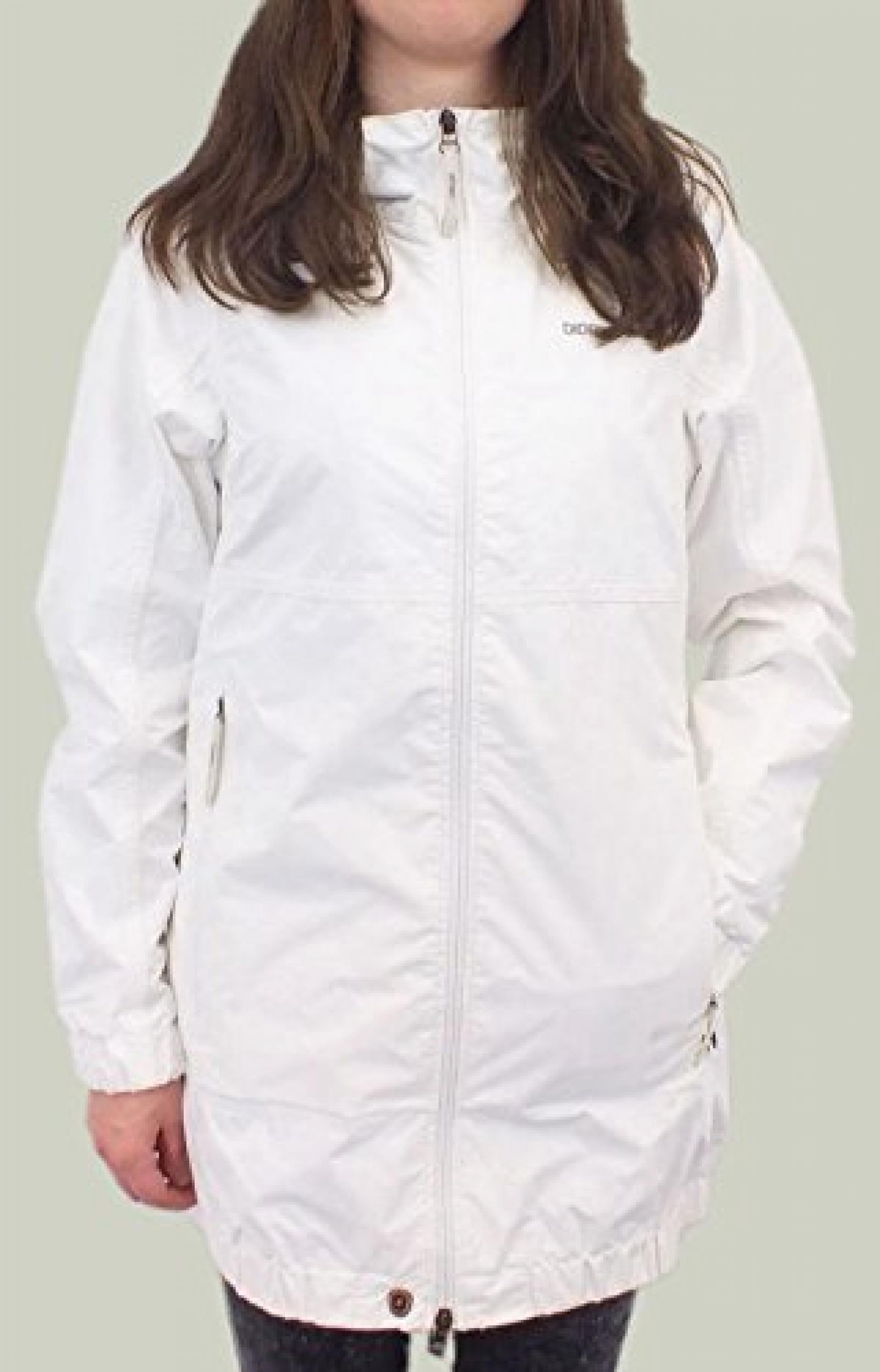 Didrikson Elisa Jacket Show White 500076 027