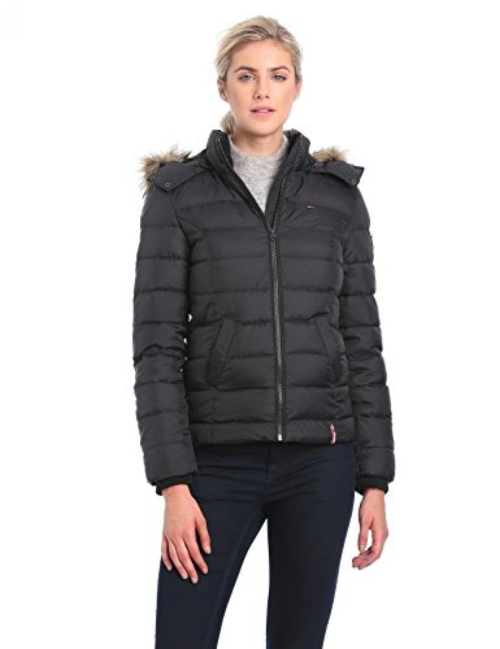 neu tommy hilfiger jacke damen martina down bomber 1657640590. Black Bedroom Furniture Sets. Home Design Ideas
