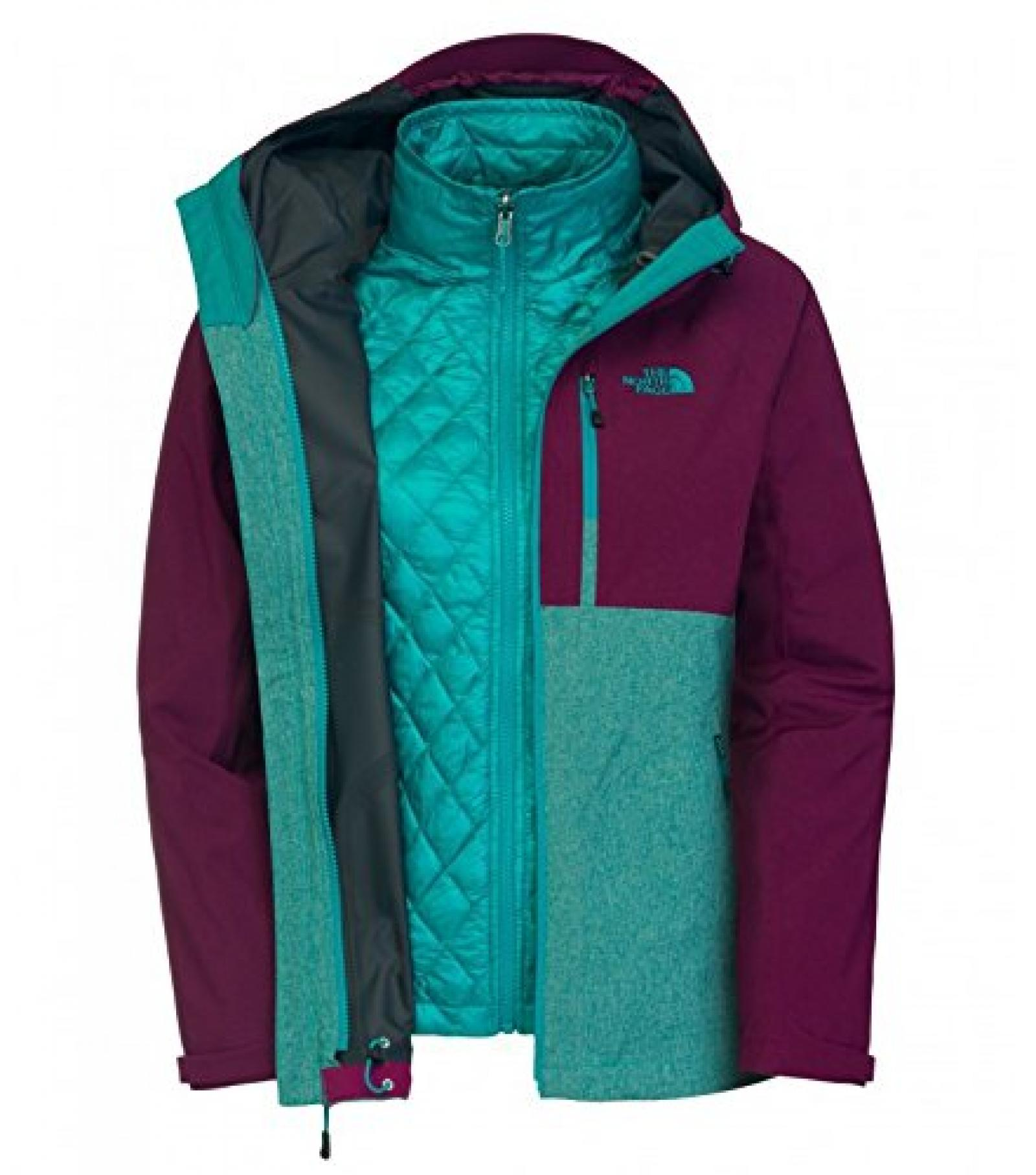 Damen Snowboard Jacke The North Face Thermoball Triclimate Jacket