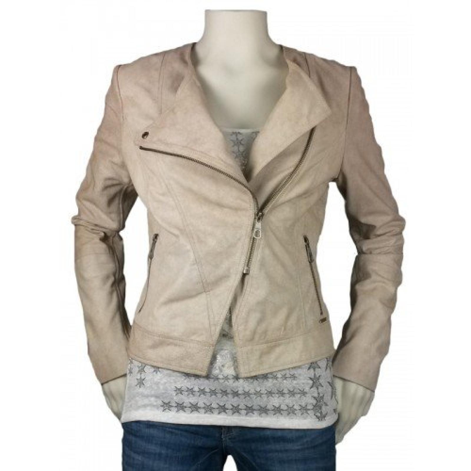 Guess Letitia Leather Jacke Damen