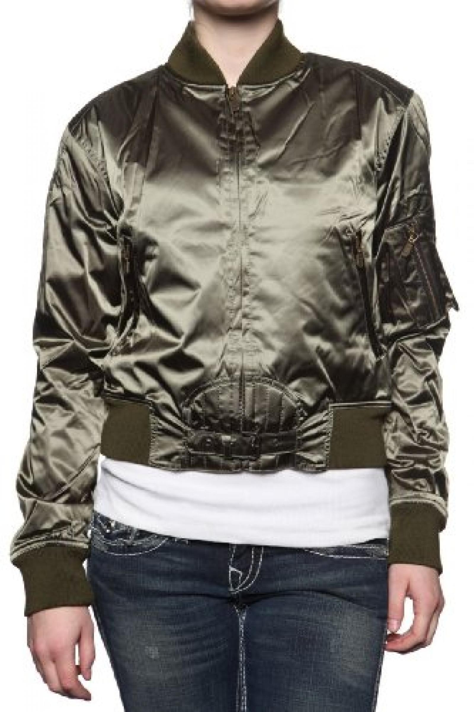 Belstaff Damen Jacke Blouson-Jacke SOLDIER, Farbe: Dunkelgruen