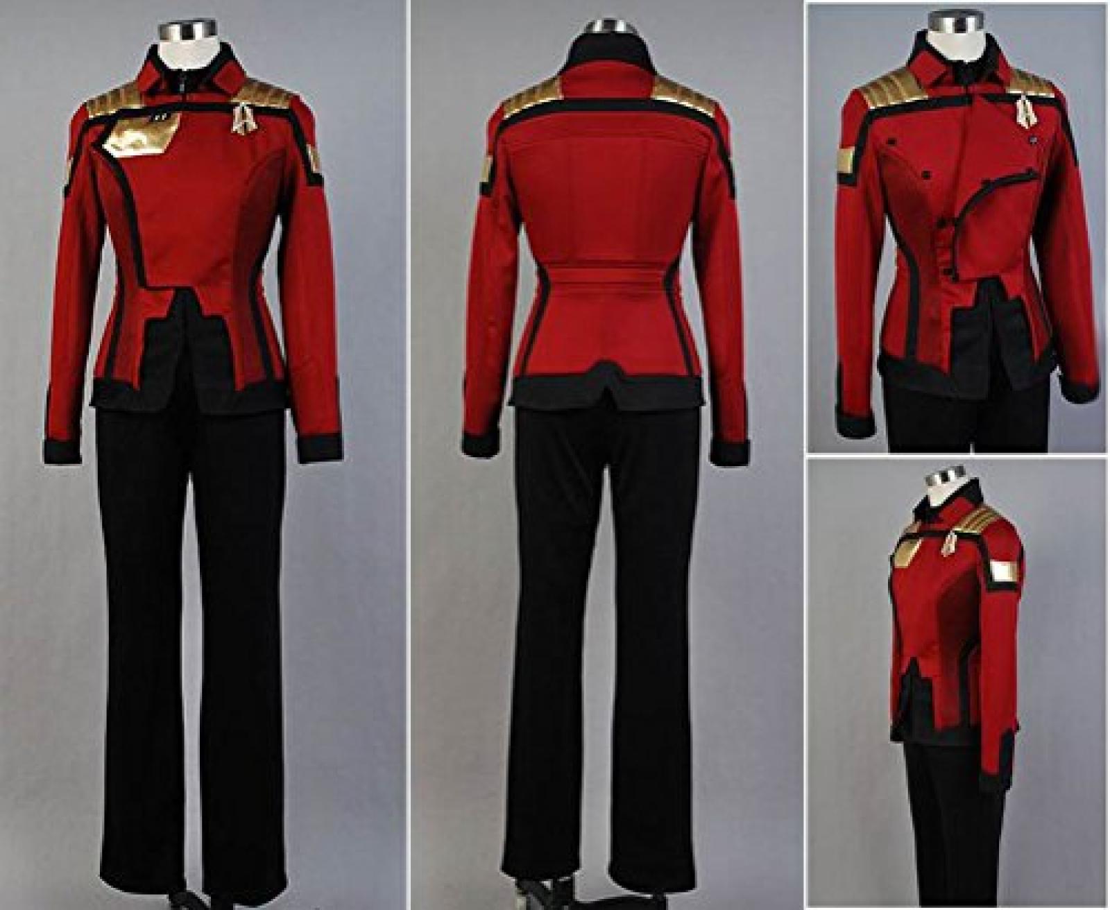 Star Trek Online General Discussion Admiral Uniform Cosplay Costume Female