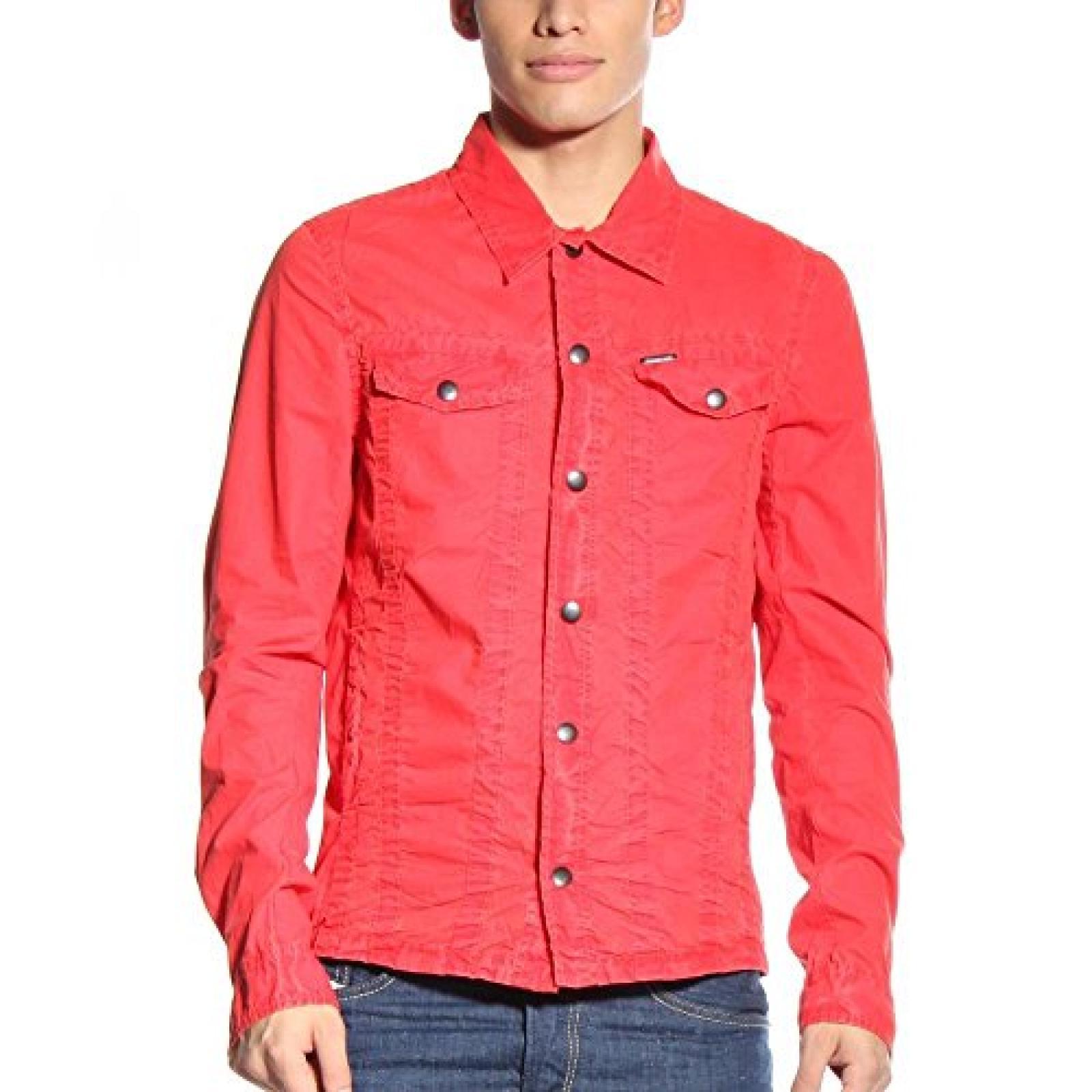 Diesel Damen Jacke Rot Rot