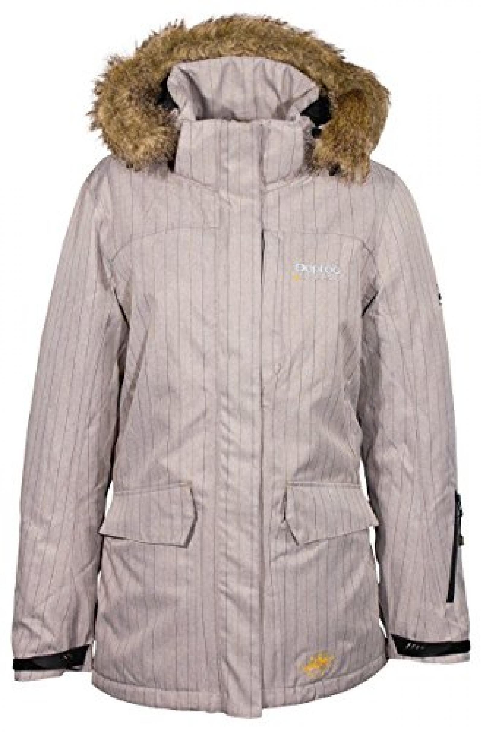 Deproc Cranbrook Ladys Jacke Outdoor Winterjacke Skijacke grau 36-46