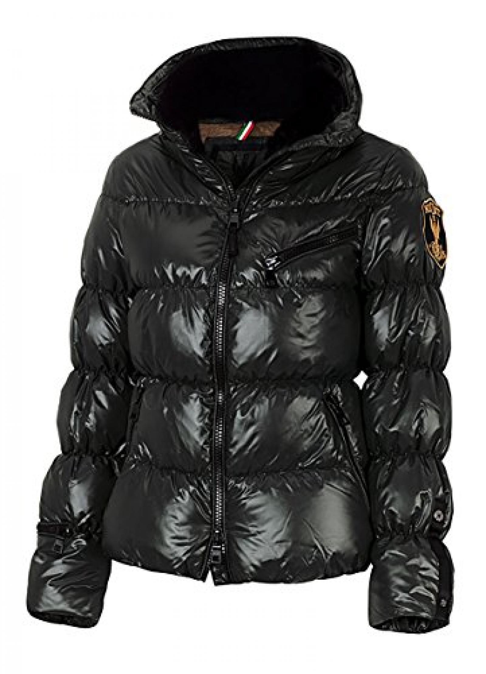ELEVEN ELFS Damen Kurzjacke, Aprés Ski, Black