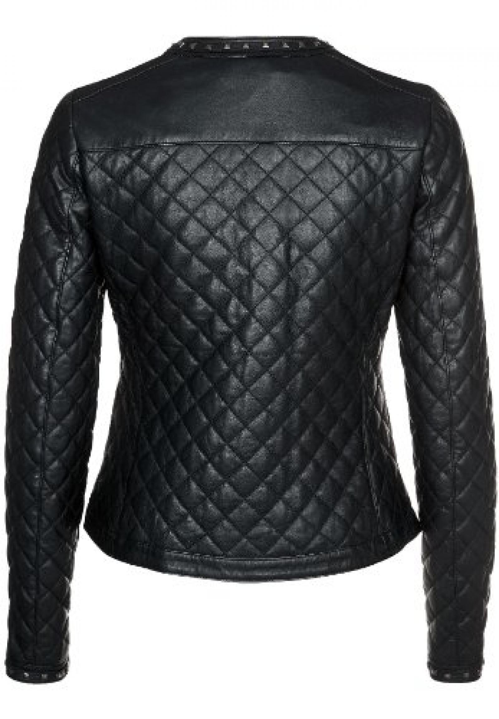 APART Fashion, Lederjacke, schwarz