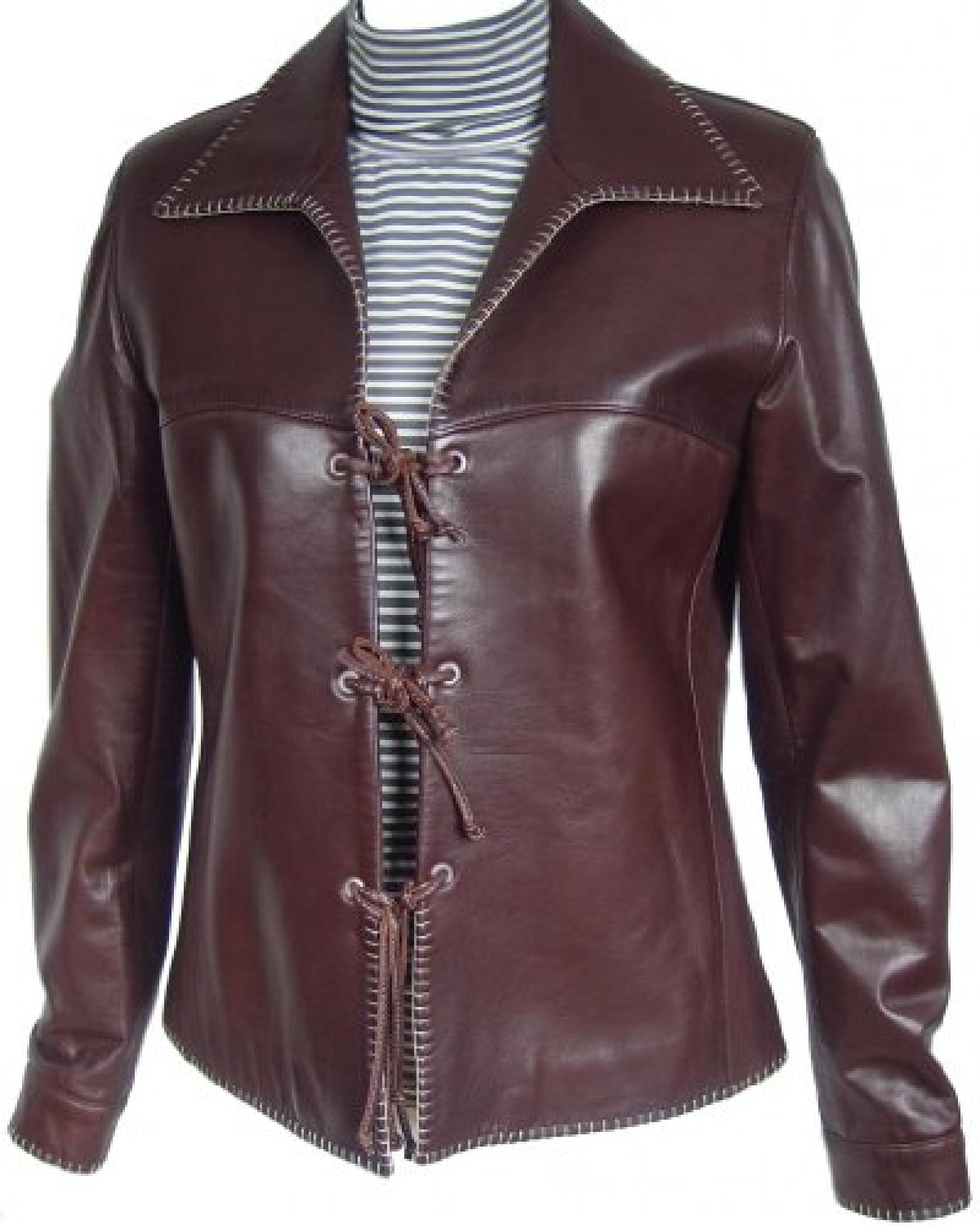 Paccilo FREE tailoring Women 4008 Lambskin Real Leather Jacket