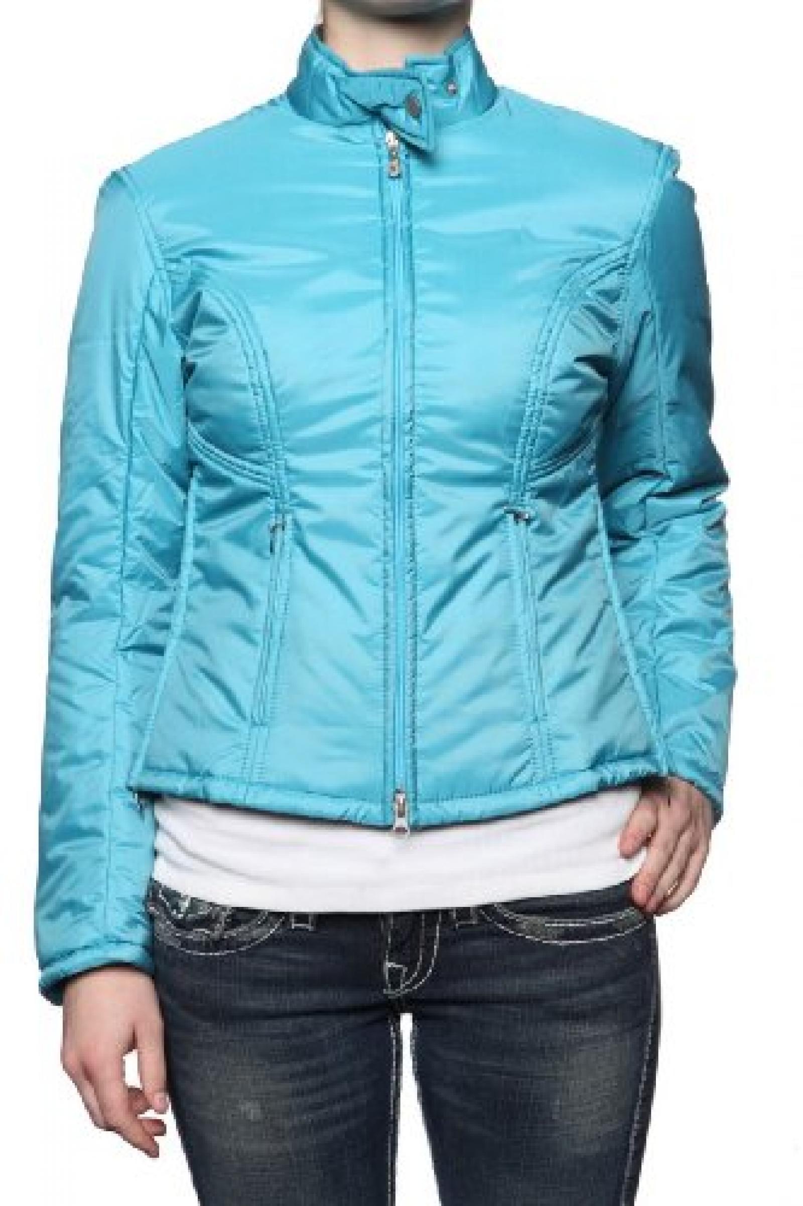 Belstaff Silver Label Damen Jacke Blouson-Jacke COLIBRI, Farbe: Petrol