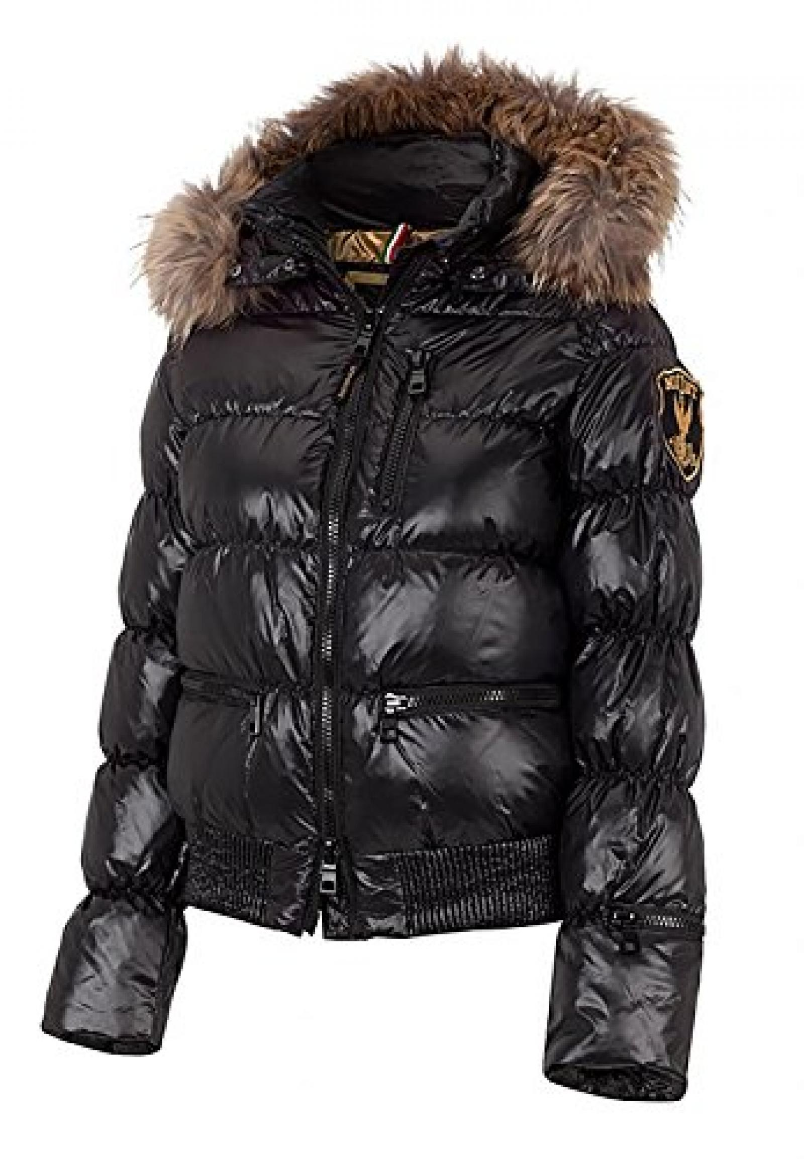 ELEVEN ELFS Damen Kurzjacke, Diamond Cut, Black