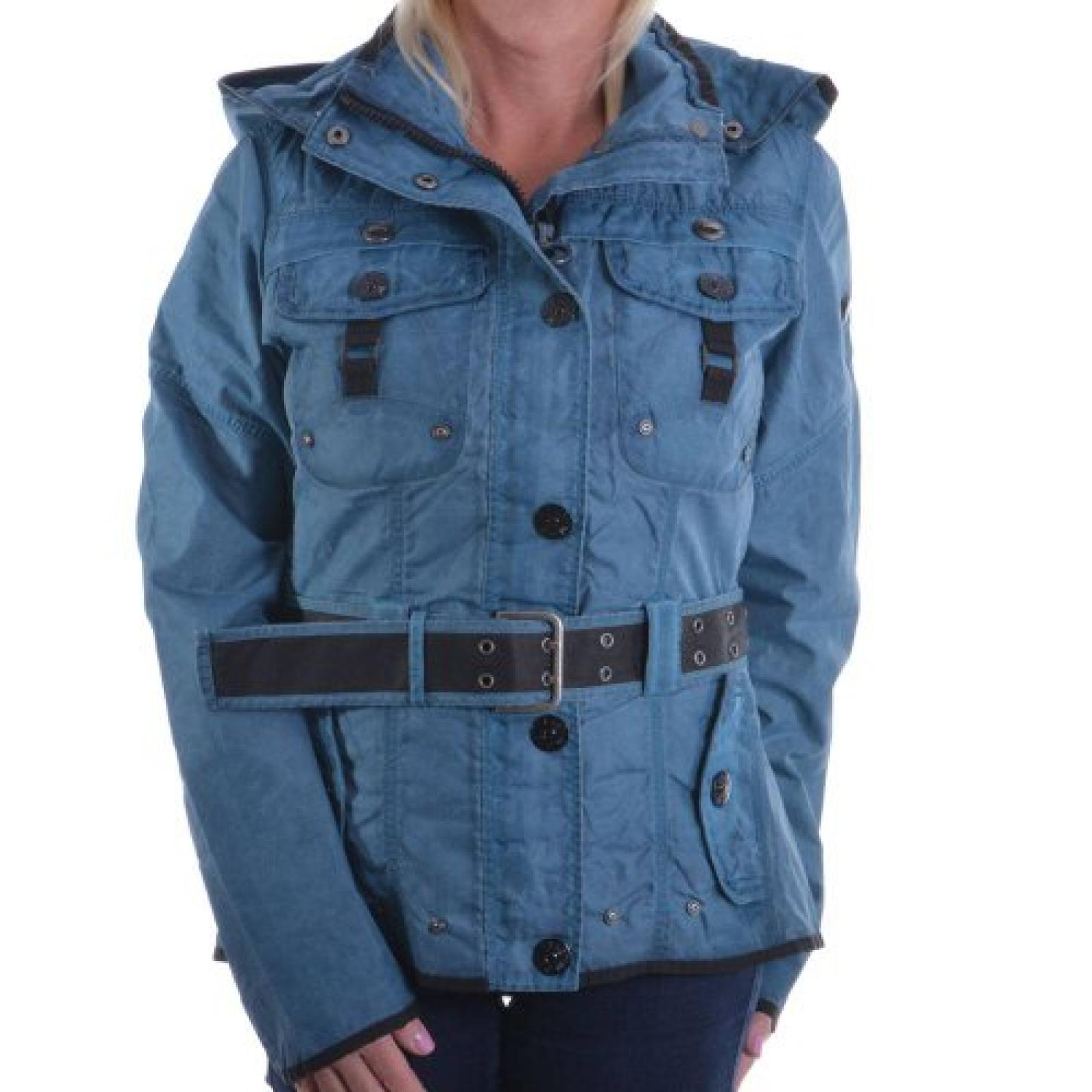 Wellensteyn Damenjacke Chocolate Gr. L UVP 299,00 Euro COC-472 Eisblau Damen Jacke