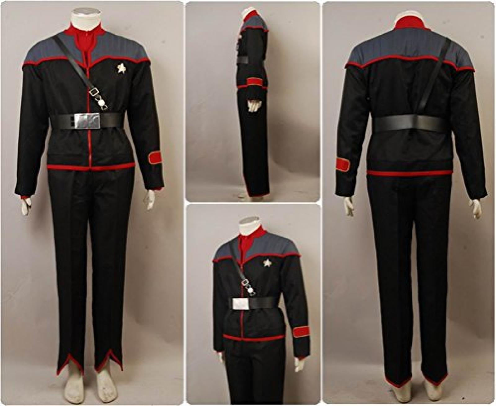Star Trek Mirror Mirror Male Uniform Cosplay Kostuem