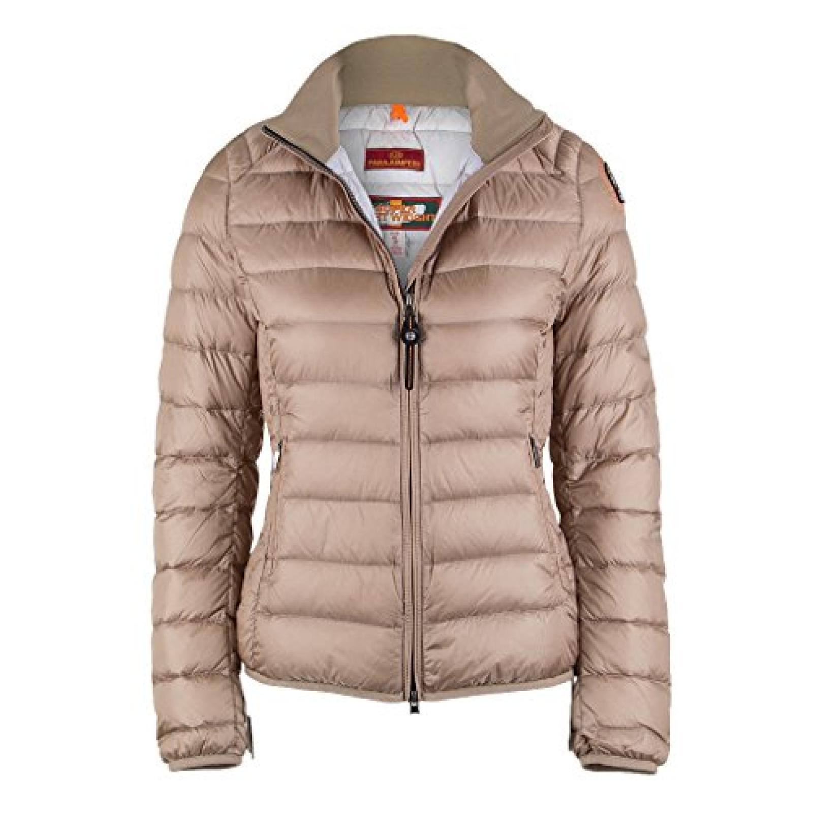 Parajumpers Damen Super Light Weight Daunen Jacke GEENA 6 beige Gr. L