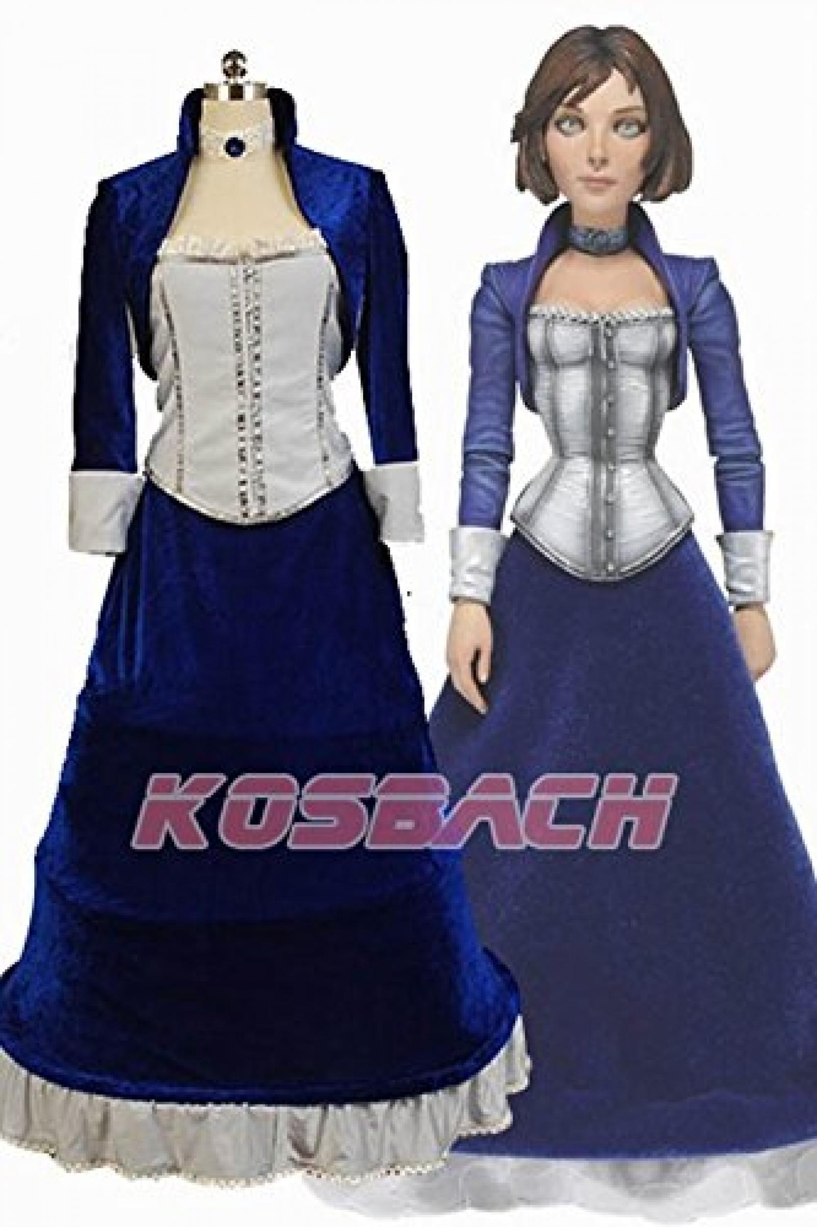 Bioshock Infinite Elizabeth Cosplay Kostuem